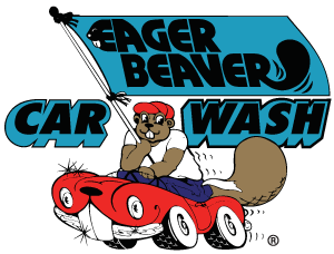 Eager Beaver Car Wash Logo